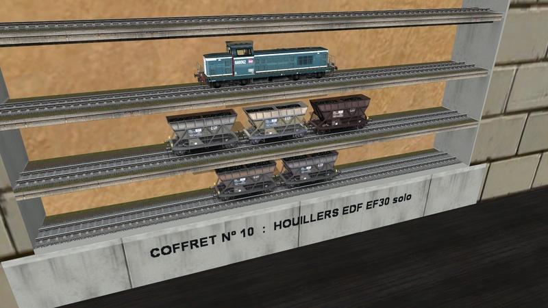 Série de coffrets pour TrainZ Girau108