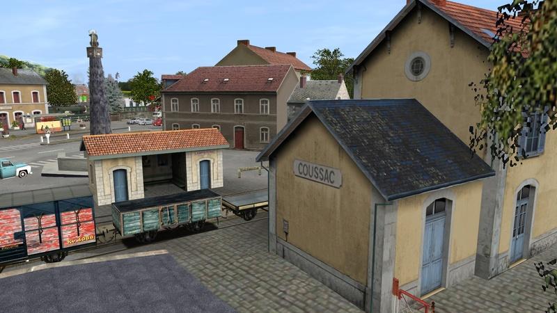 Gares de Coussac- Bonneval Giraud63