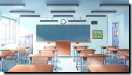 Salles de classes du lycée