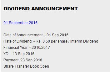 VPEL Dividends on the way... 110