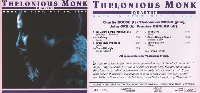 [Jazz] Playlist - Page 9 Monk_118
