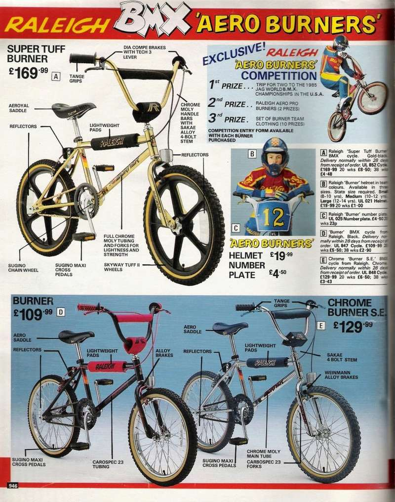 BMX Raleigh Burner (circa~1983) Burner10