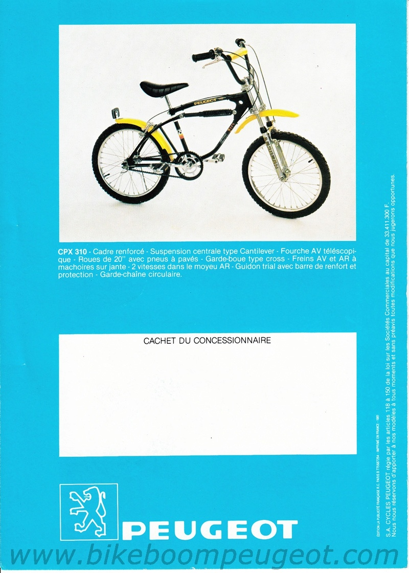 Peugeot CPX 310 - 1981 Peugeo10