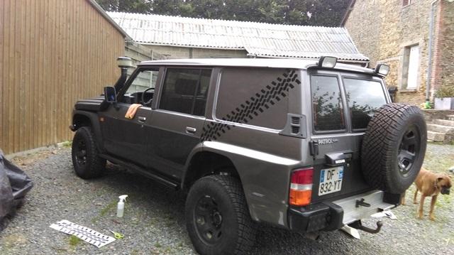 Patrol Y60 long de 91 du voisin Imag0015