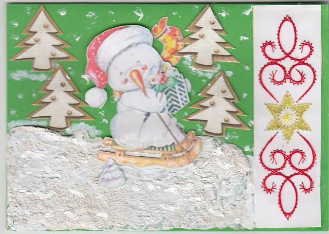 etoile de Noël réalisé pas ma fille ( hirondelle) Brode_12