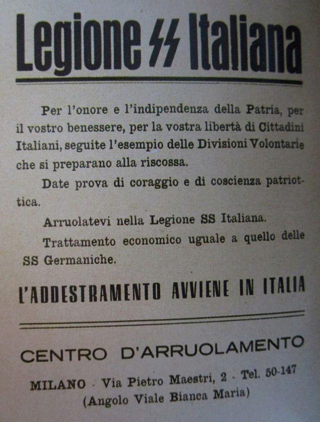 La division SS italienne - Histoire et uniformes Affich14