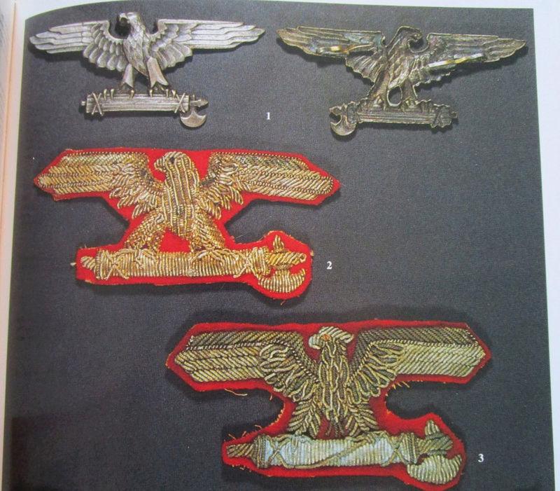 La division SS italienne - Histoire et uniformes Aigles10