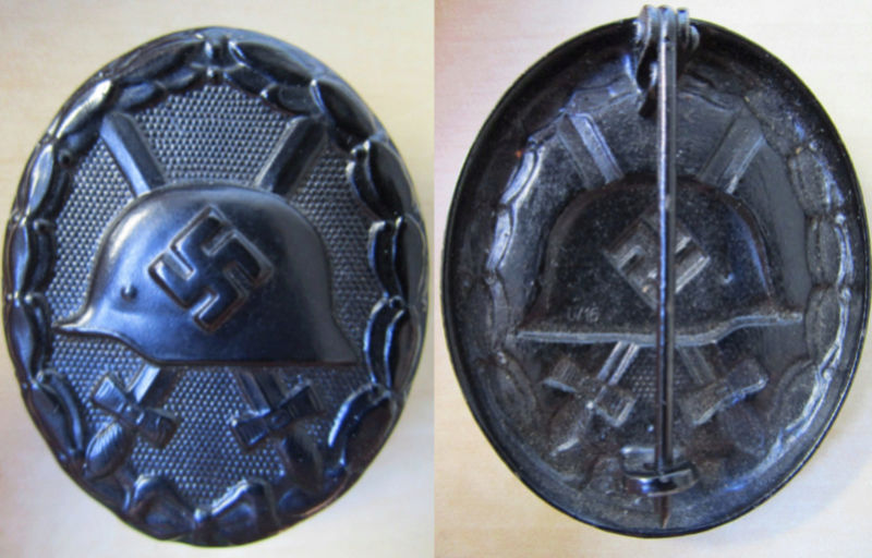 Ma collection : allemand des deux guerres mondiales (médailles, documents...) Badge_17