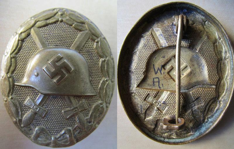 Ma collection : allemand des deux guerres mondiales (médailles, documents...) Badge_20