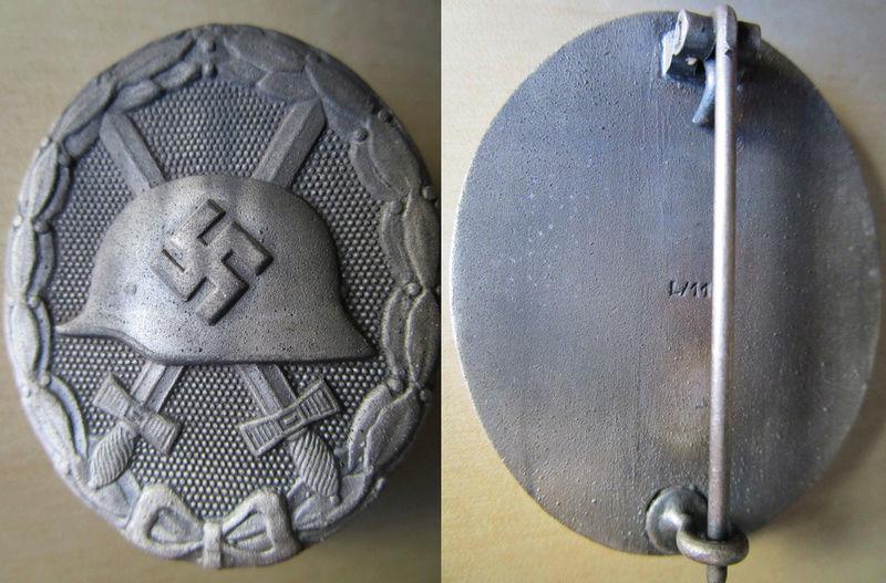 Ma collection : allemand des deux guerres mondiales (médailles, documents...) Badge_21