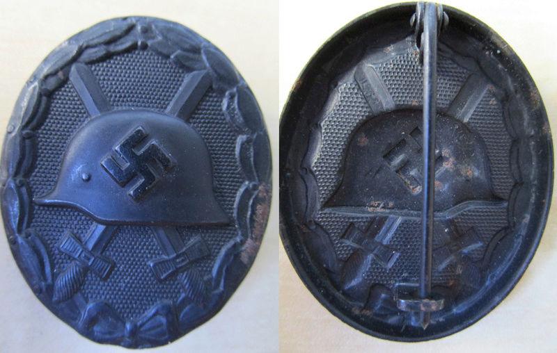 Ma collection : allemand des deux guerres mondiales (médailles, documents...) Badge_22