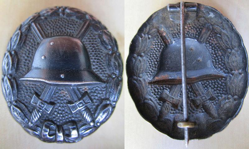 Ma collection : allemand des deux guerres mondiales (médailles, documents...) Badge_24