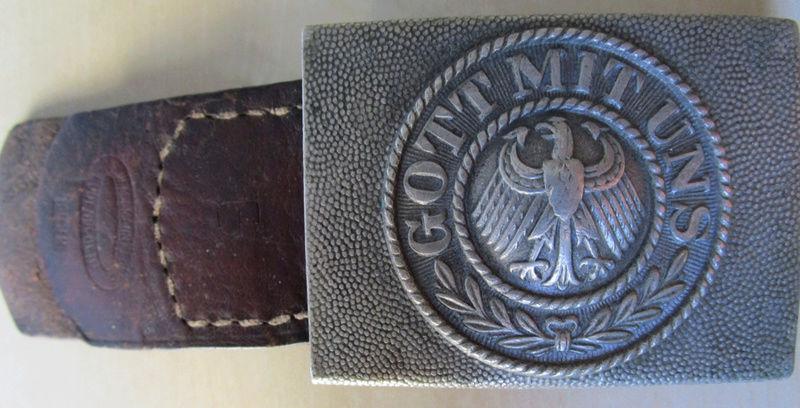 Ma collection : allemand des deux guerres mondiales (médailles, documents...) Boucle11
