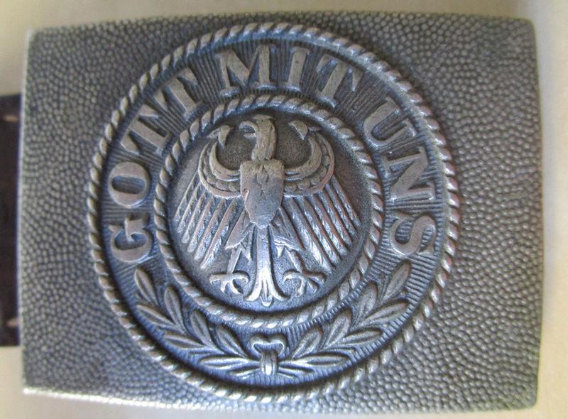 Ma collection : allemand des deux guerres mondiales (médailles, documents...) Boucle12