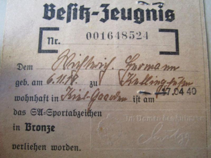 Ma collection : allemand des deux guerres mondiales (médailles, documents...) Carte_11