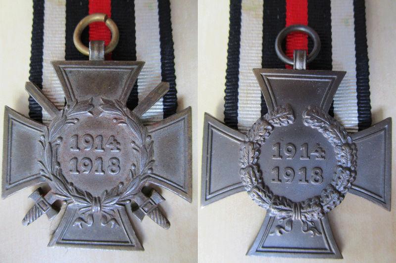 Ma collection : allemand des deux guerres mondiales (médailles, documents...) Hinden12