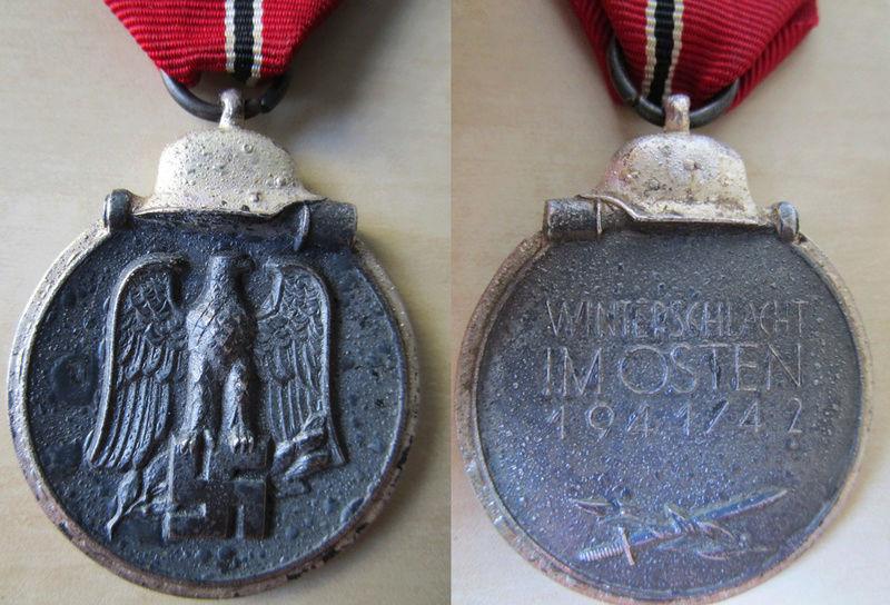 Ma collection : allemand des deux guerres mondiales (médailles, documents...) Hiver410