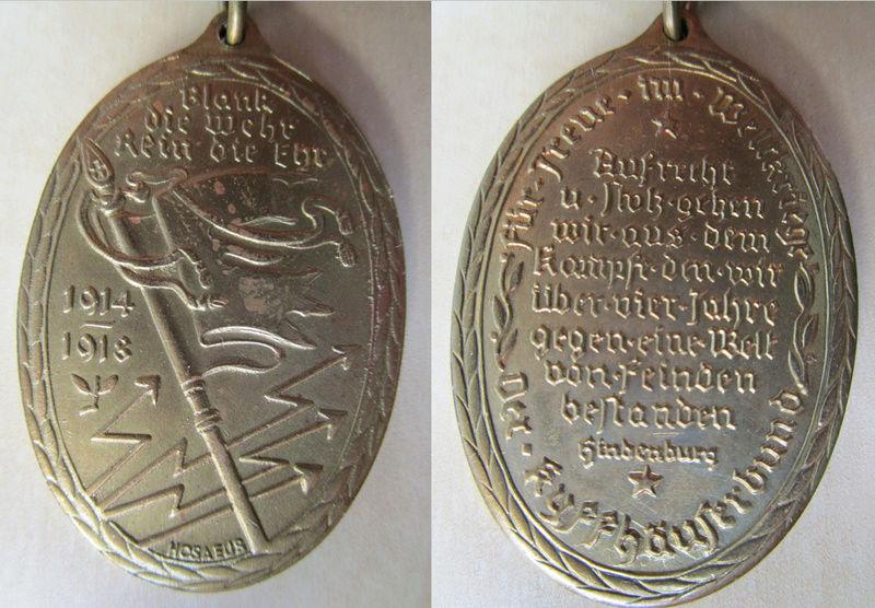 Ma collection : allemand des deux guerres mondiales (médailles, documents...) Mydail12