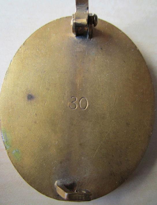 Ma collection : allemand des deux guerres mondiales (médailles, documents...) Sans_t11