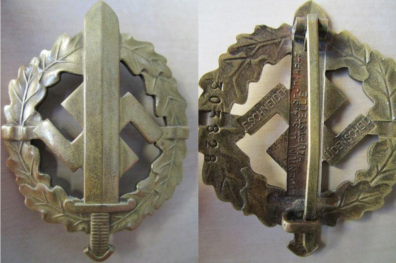 Ma collection : allemand des deux guerres mondiales (médailles, documents...) Sport_10