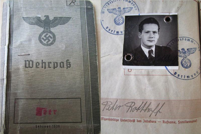 Ma collection : allemand des deux guerres mondiales (médailles, documents...) Wehrpa10