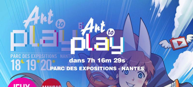 [Nantes] Art2Play 18-19-20 Novembre : Tourisme & Rencontres Screen10