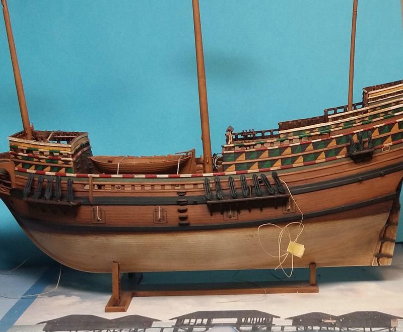 Mayflower, Revell 1:83? wohl eher 1:110 das Nebenprojekt - Seite 2 Comp_227