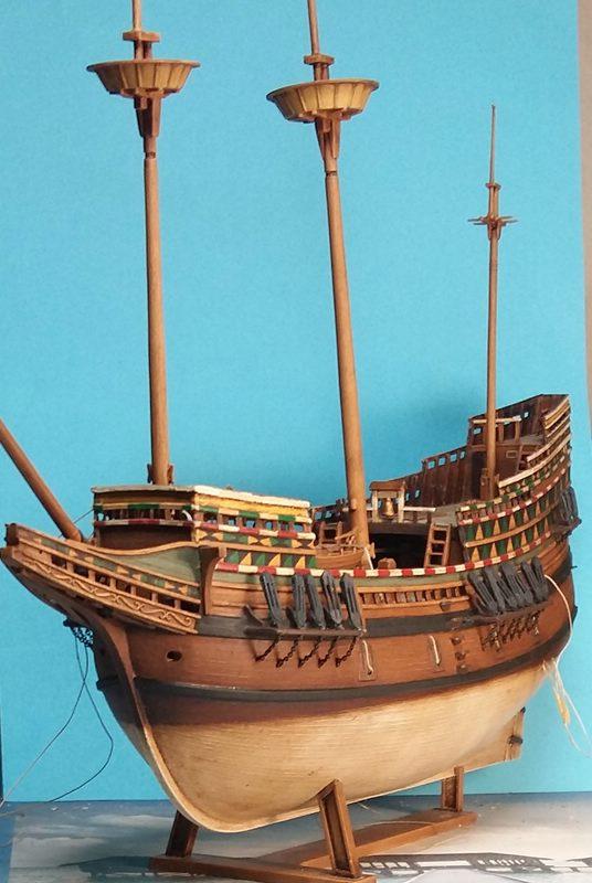 Mayflower, Revell 1:83? wohl eher 1:110 das Nebenprojekt - Seite 2 Comp_228