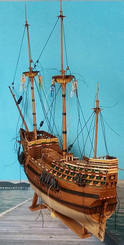Mayflower, Revell 1:83? wohl eher 1:110 das Nebenprojekt - Seite 2 Comp_235
