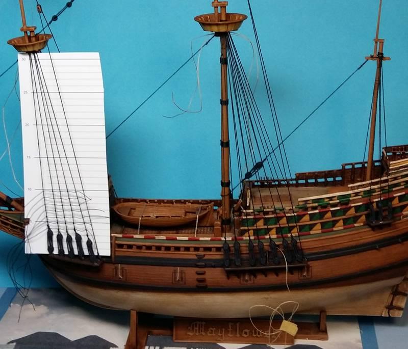 Mayflower, Revell 1:83? wohl eher 1:110 das Nebenprojekt - Seite 2 Comp_237