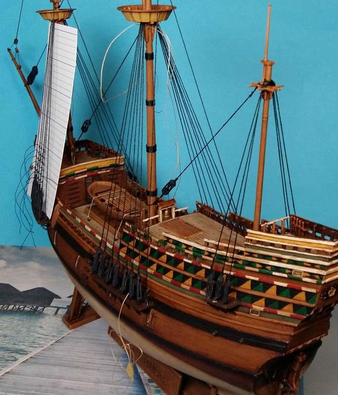 Mayflower, Revell 1:83? wohl eher 1:110 das Nebenprojekt - Seite 2 Comp_238