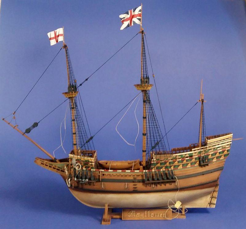Mayflower, Revell 1:83? wohl eher 1:110 das Nebenprojekt - Seite 2 Comp_243