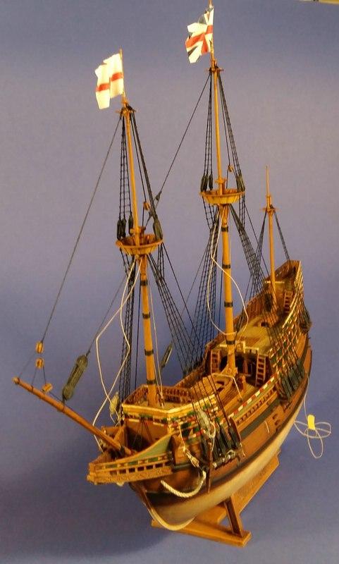 Mayflower, Revell 1:83? wohl eher 1:110 das Nebenprojekt - Seite 2 Comp_244