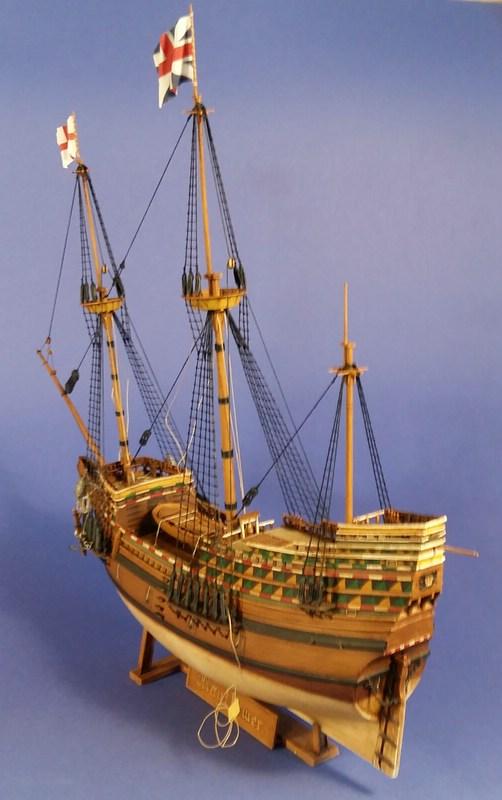 Mayflower, Revell 1:83? wohl eher 1:110 das Nebenprojekt - Seite 2 Comp_245