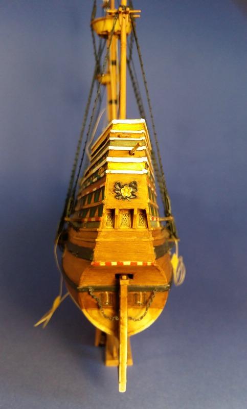 Mayflower, Revell 1:83? wohl eher 1:110 das Nebenprojekt - Seite 2 Comp_249