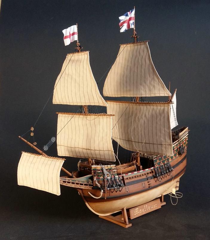 Mayflower, Revell 1:83? wohl eher 1:110 das Nebenprojekt - Seite 2 Comp_252