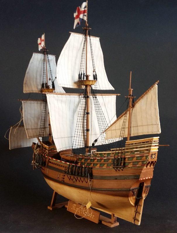 Mayflower, Revell 1:83? wohl eher 1:110 das Nebenprojekt - Seite 2 Comp_253