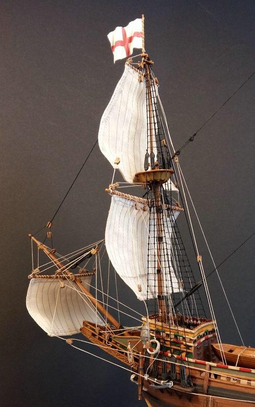 Mayflower, Revell 1:83? wohl eher 1:110 das Nebenprojekt - Seite 2 Comp_254