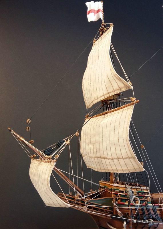 Mayflower, Revell 1:83? wohl eher 1:110 das Nebenprojekt - Seite 2 Comp_255
