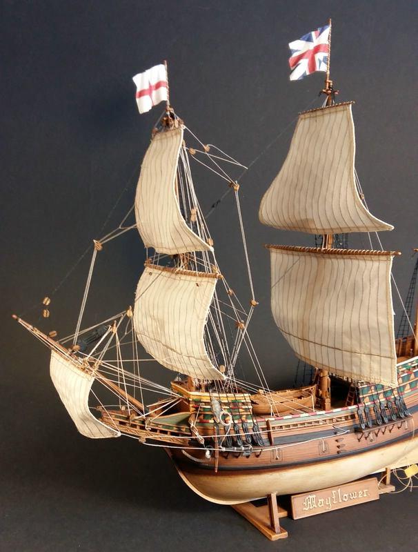 Mayflower, Revell 1:83? wohl eher 1:110 das Nebenprojekt - Seite 2 Comp_256