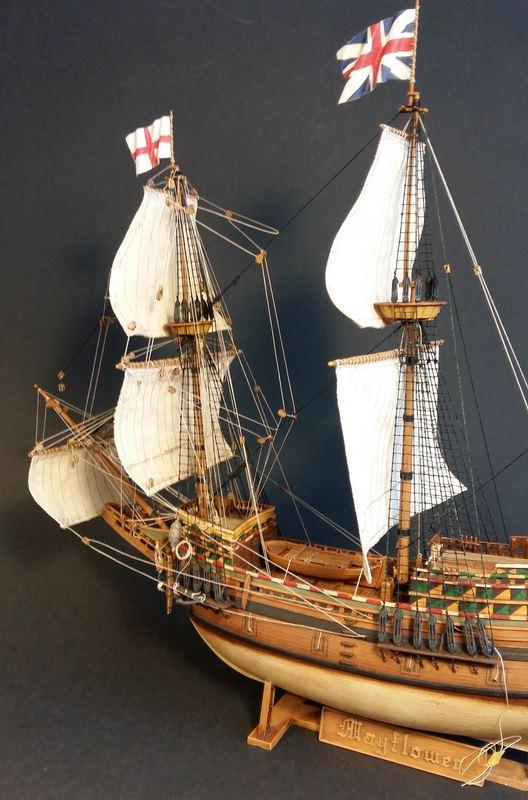 Mayflower, Revell 1:83? wohl eher 1:110 das Nebenprojekt - Seite 2 Comp_257
