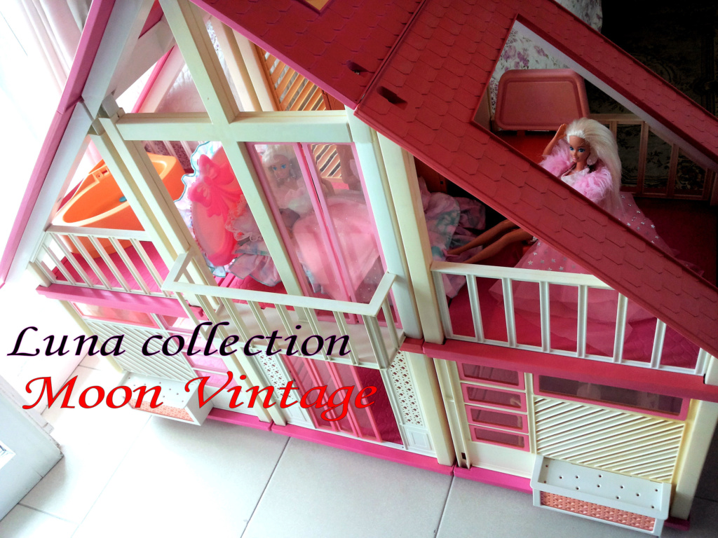 BARBIE DREAM HOUSE PINK 1980S VINTAGE RARE MATTEL 20160510