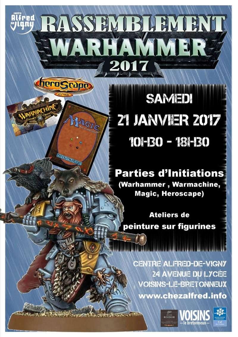 Rassemblement Warhammer 2017 Voisins-le-Bretonenux Affich12