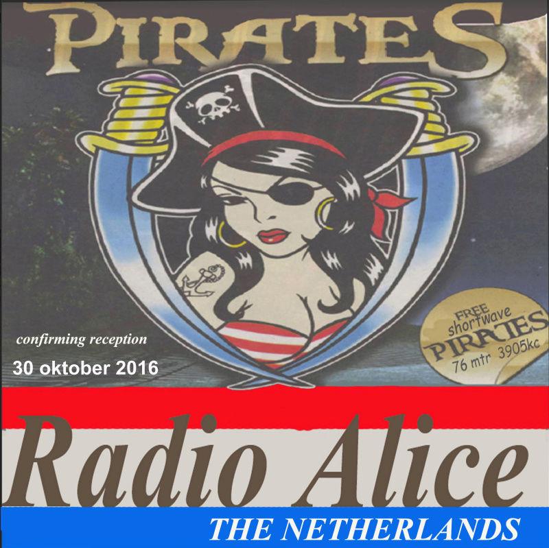 QSL de Radio ALICE 110