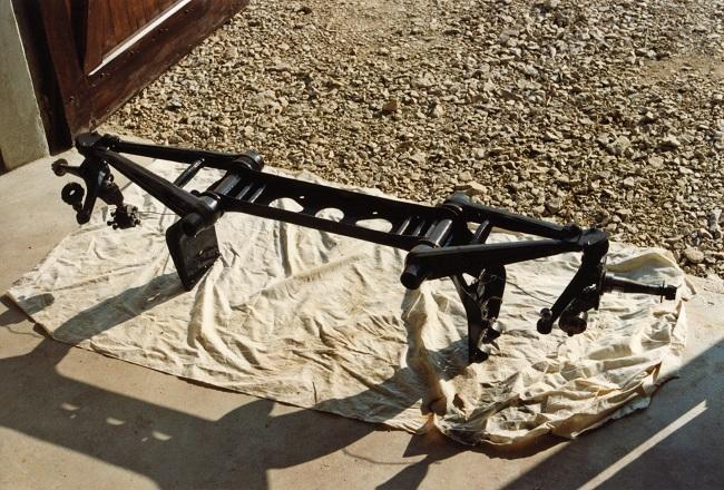 restauration du chassis rosalie 10B 3112