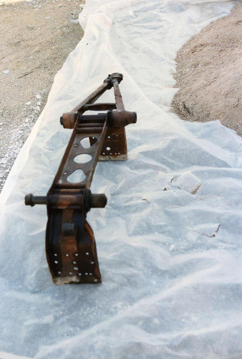 restauration du chassis rosalie 10B 3312