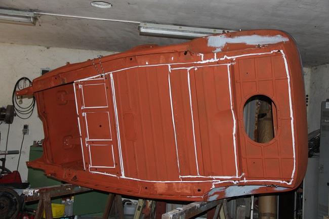 restauration du chassis rosalie 10B Img_1910