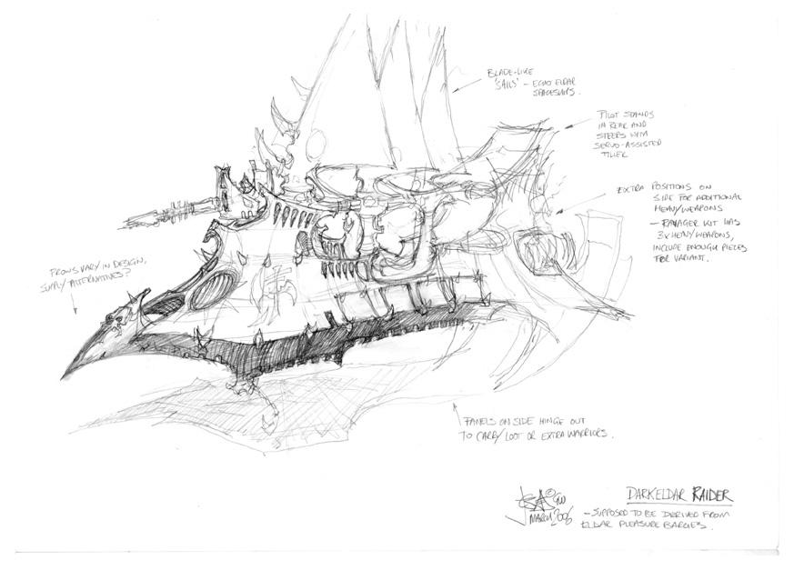 Terrain idea: Drukhari Vessels M1400410