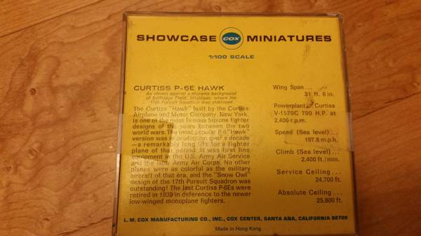 Cox Miniture Collectors  Img_0011