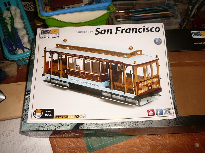 tram de San Francisco au 1/24 P1030554